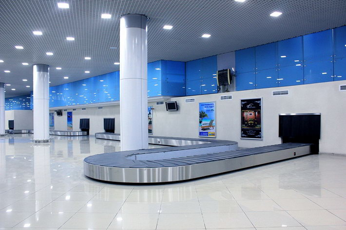 renovated airport in minsk
