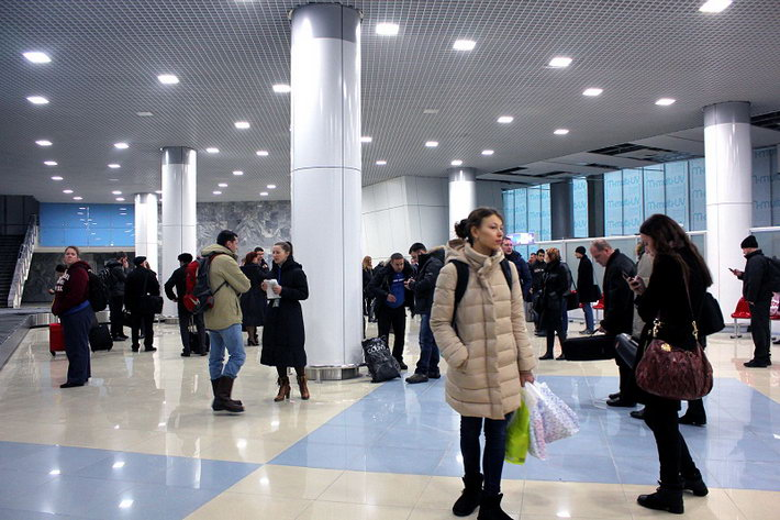 new look of minsk msq airport