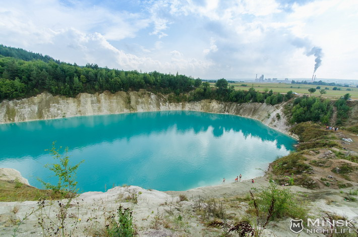 blue lakes in belarus