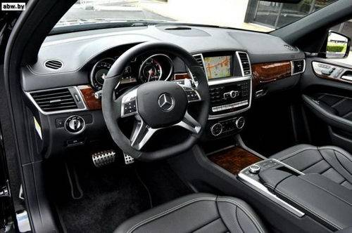 mercedes ml interior