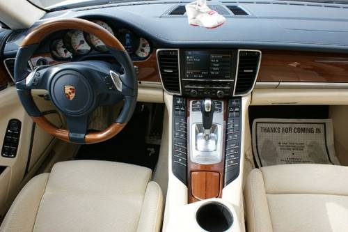 panamera turbo interior