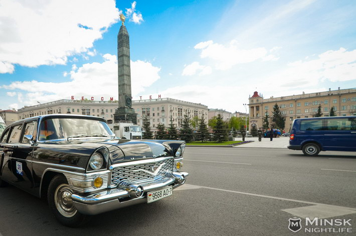 retro car show minsk 2014