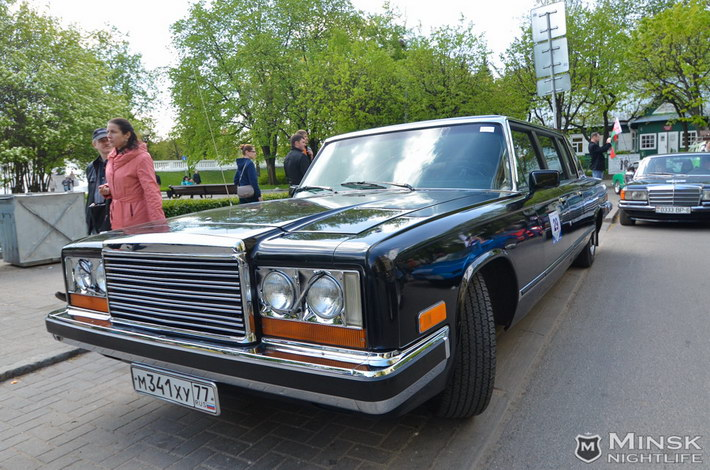 retro cars in minsk 2014