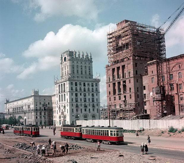 city gate kirova street old photo ussr