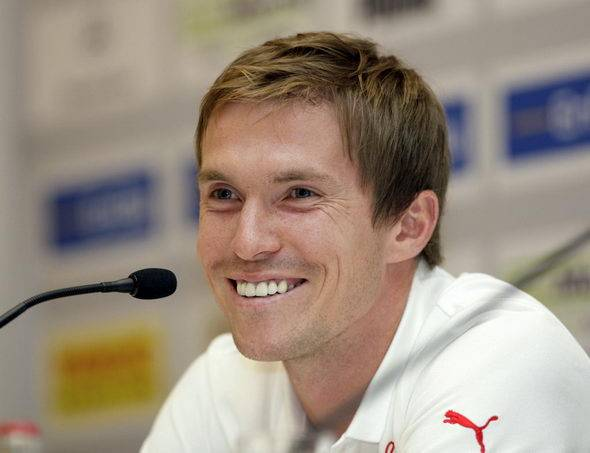 aleksandr hleb - footbal player from belarus