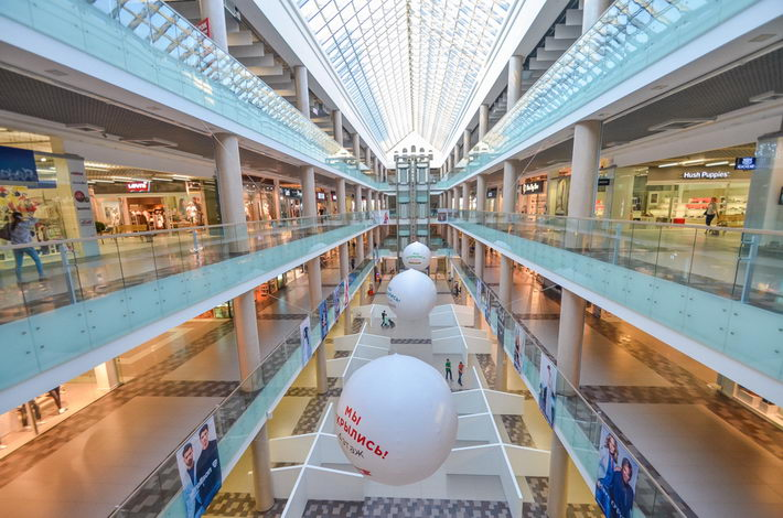 zamok shopping center in minsk