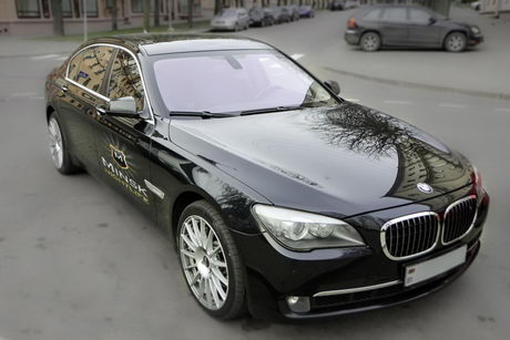 bmw 7 series for rent in minsk