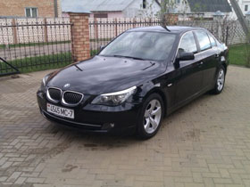 bmw5 rent in minsk