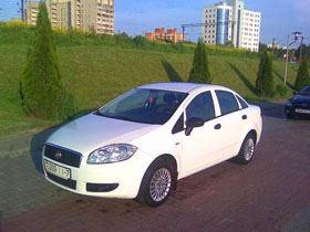 fiat rent in minsk
