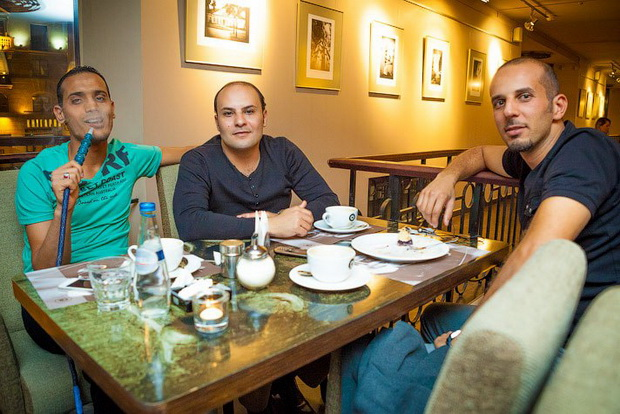 foreigners in minsk golden coffee