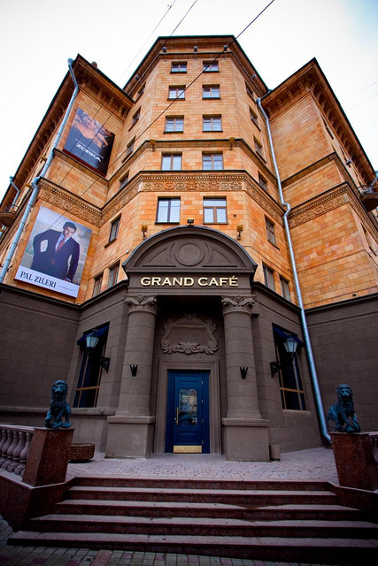 grand cafe restaurant in minsk