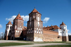 mir castle in belarus