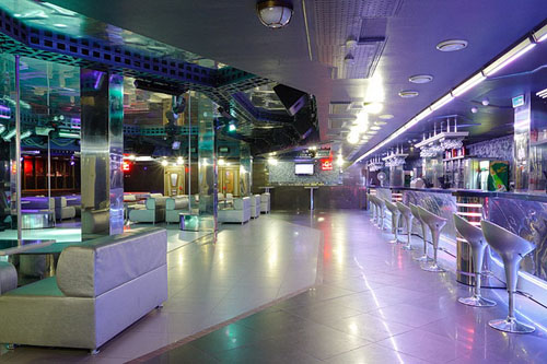 titan club interior